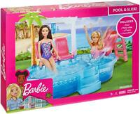 Barbie Glam Pool Playset with Slides