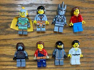 Lego City Minifigure Bundle #7  8 Figures Free p&p Used