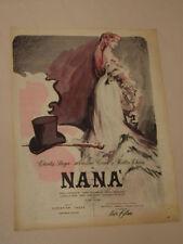 FILM NANA ' MARTIN CAROL DI CHRISTIAN JAQUE=ANNI '50=PUBBLICITA=ADVERTISING=315