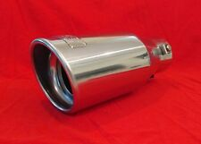 DC Sports T304 Stainless Universal Exhaust Tip Car Truck Tractor Muffler Racing