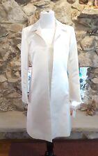 Women's ANNE KLEIN 2 Piece Ivory Dress/Coat Ensemble Size 8 NWT