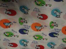 Gorgeous FARM ANIMAL Themed Fabric (50cm x 50cm)