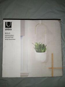 Umbra Bolo Hanging Planter open box new unused