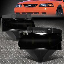 FOR 99-04 FORD MUSTANG/GT V6 DARK SMOKED LENS OE BUMPER DRIVING FOG LIGHT LH+RH