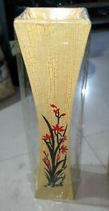 Handmade Luxury Home Decoration beautiful Wooden Flower Vase / Décor Flower Pot