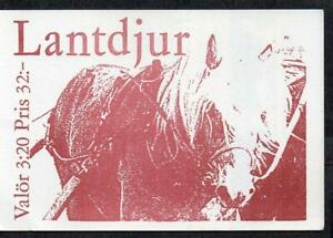 Sweden MNH 1994 Domestic Animals Complete Booklet