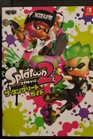 JAPAN Splatoon 2 The Complete Guide Book