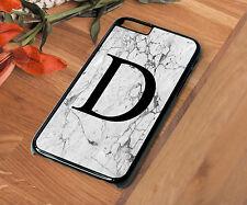 Letter D Name Phone Case Iphone 4 4S 5 5S 5C SE 6 6S 7 8 X PLUS Bride Wedding