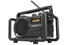Outdoorradio Baustellenradio PerfectPro Bluetooth Radio DAB + BOX 2 + Batterien