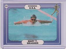 RARE 1992/93 ICCOA MARY T. MEAGHER CARD #27 ~ SWIMMING ~ OLYMPICS ~ ATHLETES