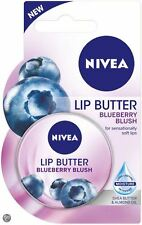 NIVEA LIP BUTTER BLUEBERRY 19ml Lip Balm Dry Skin Lips Tin