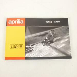 Manual De Usuario Propietario origine Moto Aprilia 50SX 2006-2006 861088