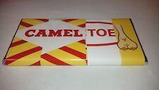 CAMEL TOE CHOCOLATE BAR,NOVELTY GREAT GIFT / PRESENT FUN GIFT