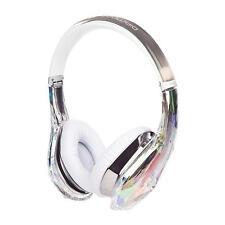 Monster Clear Diamond Tears JYP Edge On-Ear Headphones