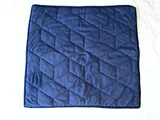 Pottery Barn Kids Jersey Euro Quilted Sham Pillow Cover 26 x 26 inch Navy EUC!