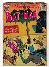 DC COMICS Batman 103 VG- 3.0 golden age 1956 bat hound movie star