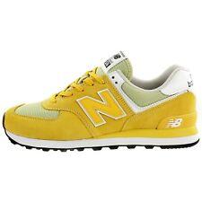 New Balance ML 574 SSJ Classic Sneaker Herren Schuhe gelb