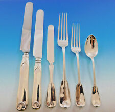 Palm by Tiffany & Co Sterling Silver Flatware Service for 12 Set 75 pcs Dinner