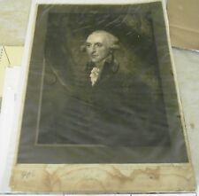 Antique William Windham Copper Plate Engraving Print from John Jones Engraver