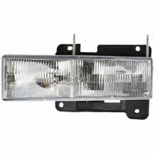 For C3500HD 91-02, CAPA Driver Side Headlight, Clear Lens
