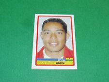 N°57 OSCAR MARIO ARAUZ BOLIVIA PANINI FOOTBALL COPA AMERICA 2007