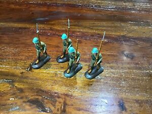 54mm plastic factory painted triang mini models Ww2 Japanese inf marching