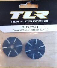 Team Losi Racing 232043 Grooved Slipper Plate Set: 22-4 2.0