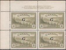 CANADA.OFFICIALS 1950-51. GREAT BEAR LAKE.10c UN#021