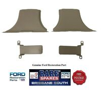 HOLDEN COMMODORE VB VC VH VK VL DOOR PILLAR SEAT BELT RETRACTOR COVER SANDLEWOOD