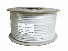 Drum White Intruder Burglar Alarm Cable 12 Core 100 meter
