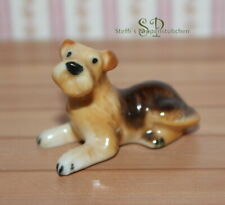"FG 1621 - Hund ""Schnauzer"" - Miniatur Puppenhaus Puppenstube ca. 1:10"