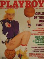 Playboy April 1989 | Erika Eleniak Jennifer Jackson   #1245+