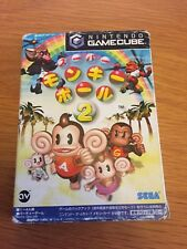 Game Cube Super Monkey Ball 2 Japanese NTSC-J Boxed With Manual Free Uk Postage