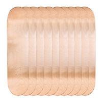 "Lot of 10 Cal 7 Blank Maple 8.0"" Skateboard Deck Multi-Color Bundle Combo Set"