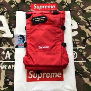 Supreme SS19 Tote Backpack Authentic BOX LOGO BAG SHOULDER DUFFLE MESSENGER TNF