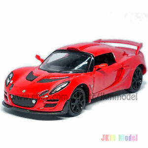 1:26 Lotus Exige Scura Model Car Diecast Toy Vehicle Gift Collection Gift Red