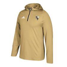 Georgia Tech Yellow Jackets NCAA Men's Sand Climalite 1/4 Zip Training Hoodie
