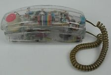 Vintage Kambrook Clear Phone - T-1269 - Prison Style See Thru 1980's-'90s