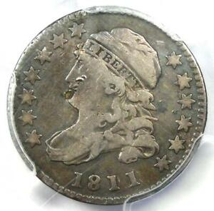 1811/09 Capped Bust Dime 10C - Certified PCGS Fine Details - Rare Date!