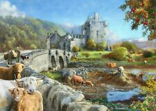 House of Puzzles 1000 piece jigsaw puzzle - Highland Morning - New & Sealed