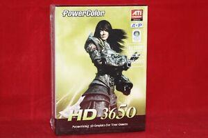 PowerColor ATI Radeon HD 3650, 512MB DDR2, AGP Graphics Card. (AG3650 512MD2-V3)