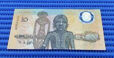 1988 Australia $10 Bicentennial Commemorative Banknote AB 16394178 First Polymer