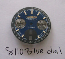 = New BLUE DIAL made for CITIZEN 8110 Chronograph Automatic