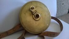 Vintage Measuring Tape - 1890s/1900s - copper cover - METERS and FEET - 20M