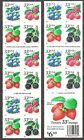 3297D 3294A 3297A BERRIES CONVERTIBLE BOOKLET 2000 YEAR DATE