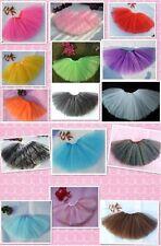 Girl's tutu skirt 3 Layer Petticoat Tutu ballet party Skirt Dress Up 1-5 Years