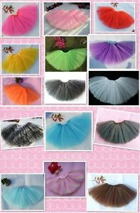 Adult Women /Big girls tutu skirt 3 Layer Petticoat Tutu ballet/ hen party Skirt