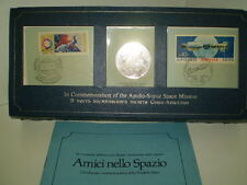 COMMEMORATION OF APOLLO SOYUZ SPACE MISSION 1975  STERLING SILVER  LIMITED