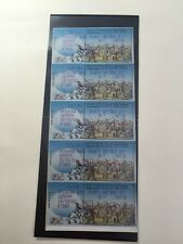 Israel 2001 Jerusalem Exhibition 10 Label Stamps Set In A Row