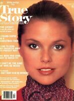 Gorgeous 24 Year Old Super Model Christie Brinkley on Cover True Story Magazine